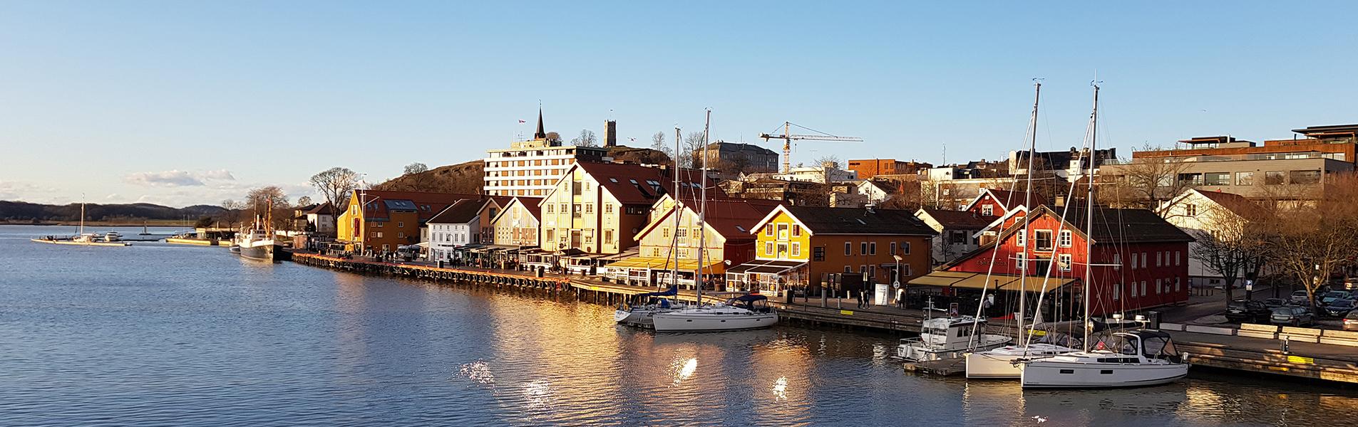 Bryggeområde i Tønsberg kommune